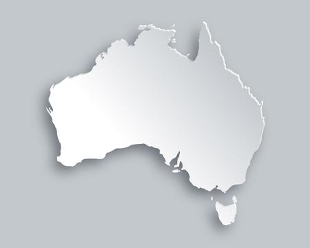 Illustration for Map of Australia - Royalty Free Image