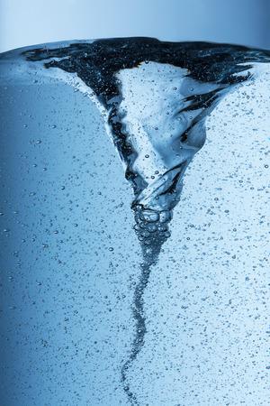 Foto de water Tornado with air bubbels - Imagen libre de derechos