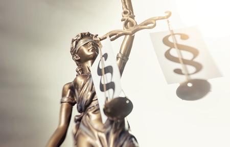 Photo pour Statue of Justice - image libre de droit