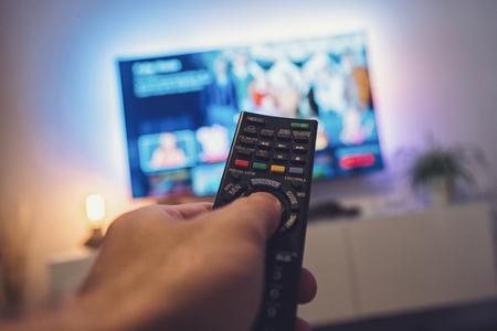 Photo pour Tv remote control - image libre de droit