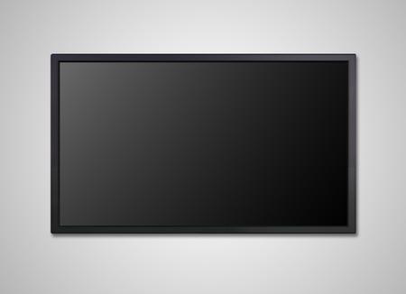 Foto de blank on the monitor display, it is representing the entertainment concept - Imagen libre de derechos