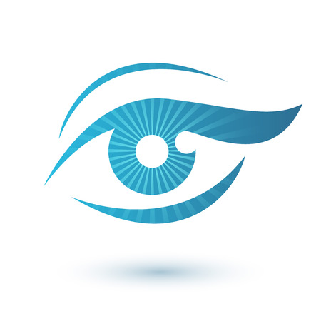 Illustration pour Woman eye icon beauty symbol. Vision icon. - image libre de droit