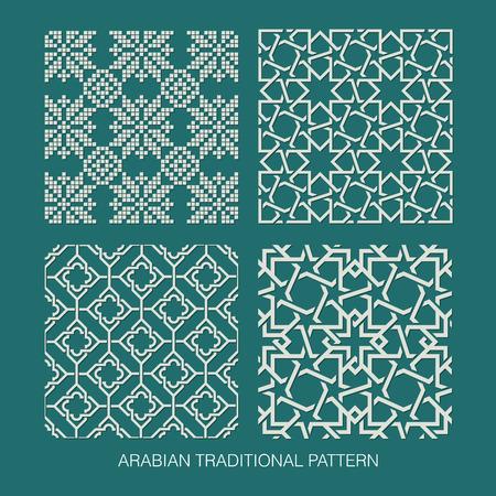 Ilustración de Traditional Arabian pattern   - Imagen libre de derechos