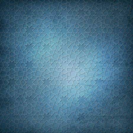 Illustration for Arabic pattern background - Royalty Free Image