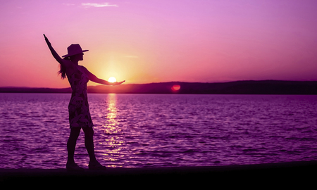 Foto de Life coaching, motivation and self realization banner - Imagen libre de derechos