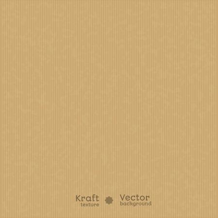 Illustration pour Kraft paper texture background. Use for your design. presentations, etc. - image libre de droit