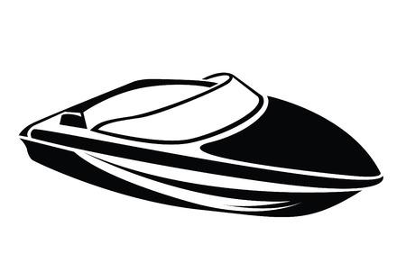 Illustration pour Boat Symbol - image libre de droit