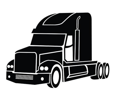 Illustrazione per Truck Symbol - Immagini Royalty Free