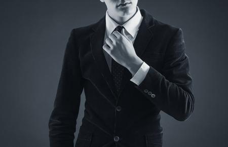 Foto de Stylish man in an elegant suit  - Imagen libre de derechos