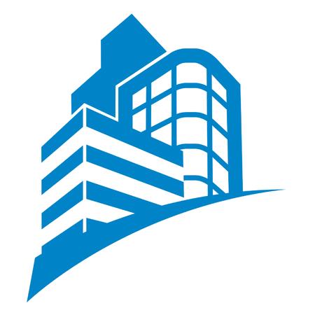Foto de business buildings sign - Imagen libre de derechos