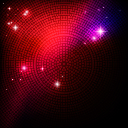 Ilustración de Abstract disco party background  for design Illustration - Imagen libre de derechos