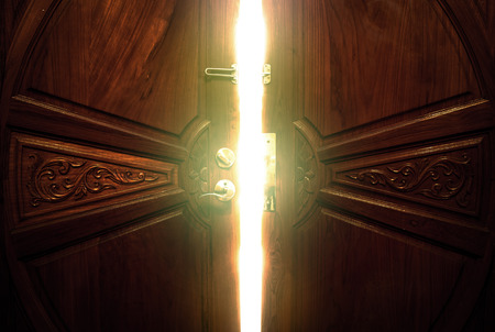 Photo pour open door light - image libre de droit