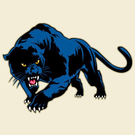 Ilustración de black panther - Imagen libre de derechos