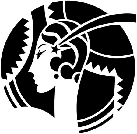 Ilustración de Art Deco Motif - Imagen libre de derechos