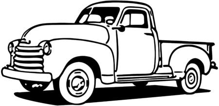 Photo pour Chevy Pickup Truck - image libre de droit