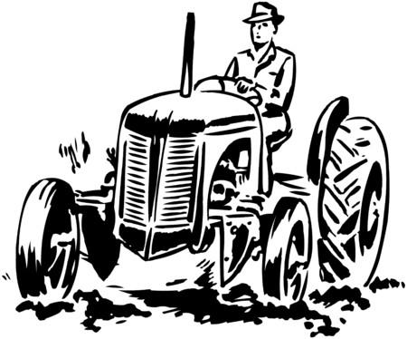 Illustration pour Tractor 2 - image libre de droit