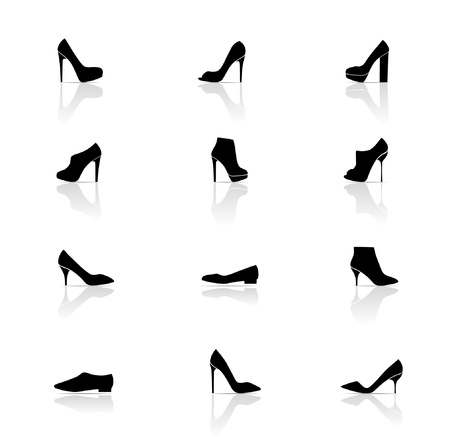 Icon Set, Shoes