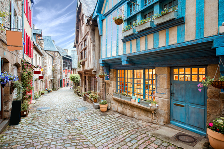Photo pour Dinan town in France - image libre de droit