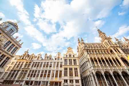 Foto de Central square in Brussels city - Imagen libre de derechos