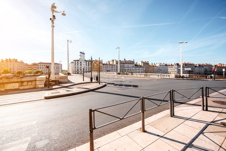 Photo for Lyon city in France - Royalty Free Image