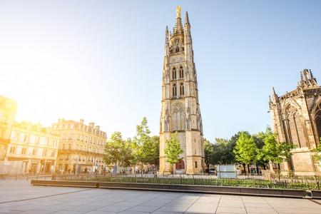 Photo pour Bordeaux city in France - image libre de droit