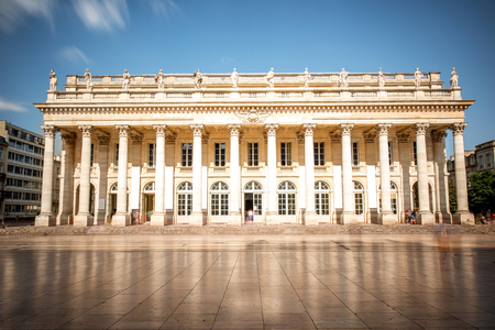 Photo for Bordeaux city in France - Royalty Free Image