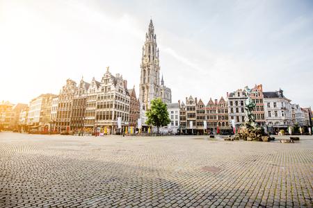 Photo pour Antwerpen city in Belgium - image libre de droit