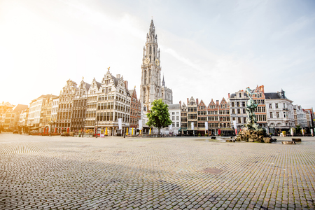 Photo for Antwerpen city in Belgium - Royalty Free Image