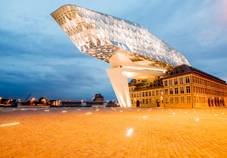 Photo for Port house in Antwerpen - Royalty Free Image