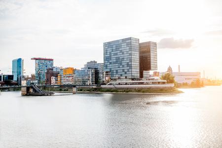 Photo pour Dusseldorf city in Germany - image libre de droit