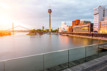 Photo for Dusseldorf city in Germany - Royalty Free Image
