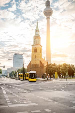 Photo pour Berlin city view - image libre de droit