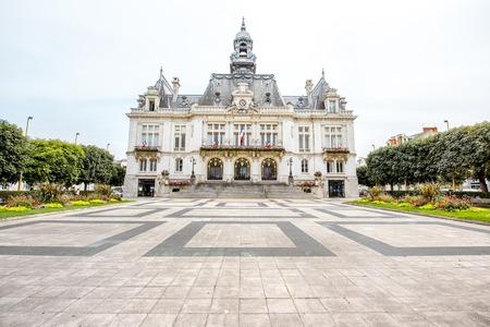 Photo pour Buildings in Vichy city , France - image libre de droit