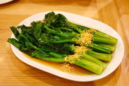 Foto für Kale fried in oyster sauce - Lizenzfreies Bild