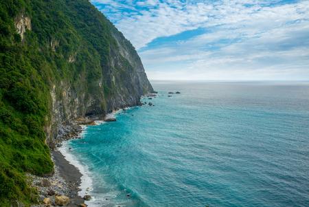 Photo pour landscape of Qingshui Cliff in Taiwan - image libre de droit