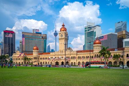 Photo pour sultan abdul samad building in Kuala Lumpur, Malaysia - image libre de droit