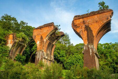 Photo for Ruins of Long-teng Bridge, Miaoli County, Taiwan - Royalty Free Image