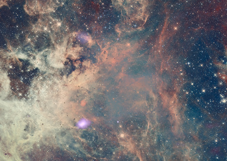 Photo pour Small part of an infinite star field of space in the Universe. - image libre de droit