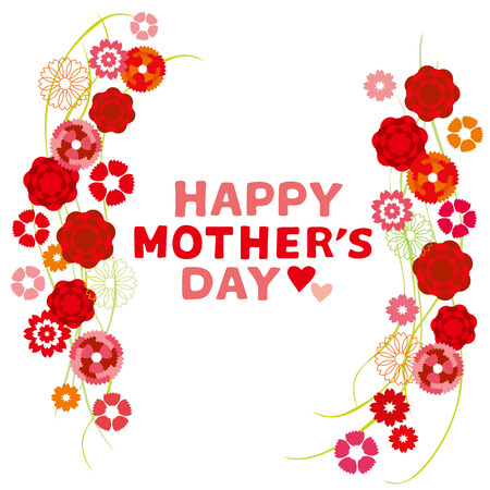 Illustration of Carnation Mother s Day