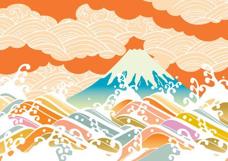 Ilustración de Fuji of Japan - Imagen libre de derechos