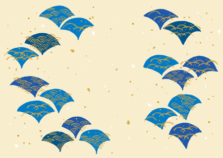 Illustration for The pattern of japanese wave - Royalty Free Image