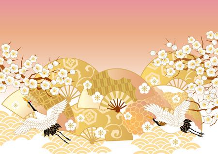 Ilustración de The beautiful pattern of Japan - Imagen libre de derechos