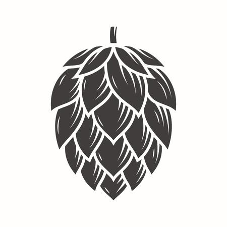 Ilustración de Hop emblem icon label logo. - Imagen libre de derechos
