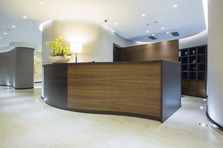 Foto de Modern reception desk - Imagen libre de derechos