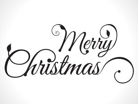 Illustration pour merry christmas text background vector illustration - image libre de droit
