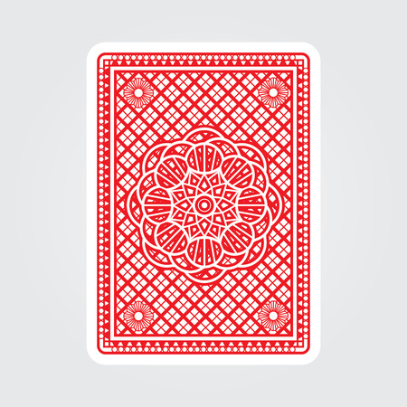 Illustration pour Playing Cards Back - image libre de droit