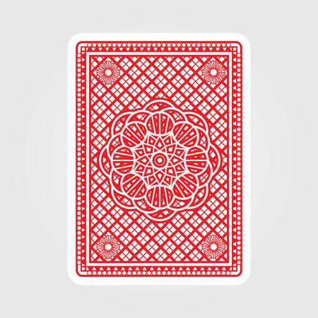 Ilustración de Playing Cards Back - Imagen libre de derechos