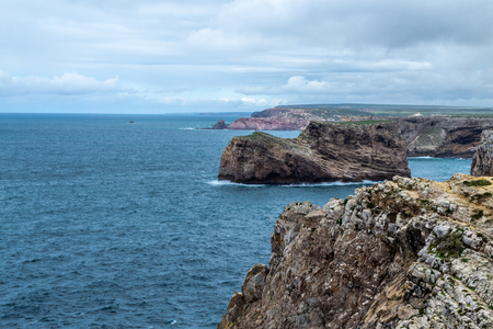 Photo pour Cabo de Sao Vicente is the South Western tip of Europe - image libre de droit