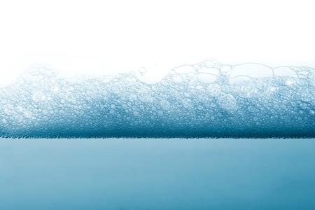 Foto de Soap foam and bubbles background - Imagen libre de derechos