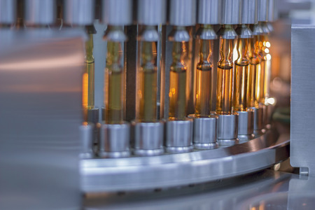 Photo for Pharmaceutical Optical Ampule / Vial Inspection Machine - Royalty Free Image
